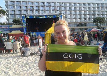 Akcja Flaga CCIG 2014 - Aleksandra Weglinska